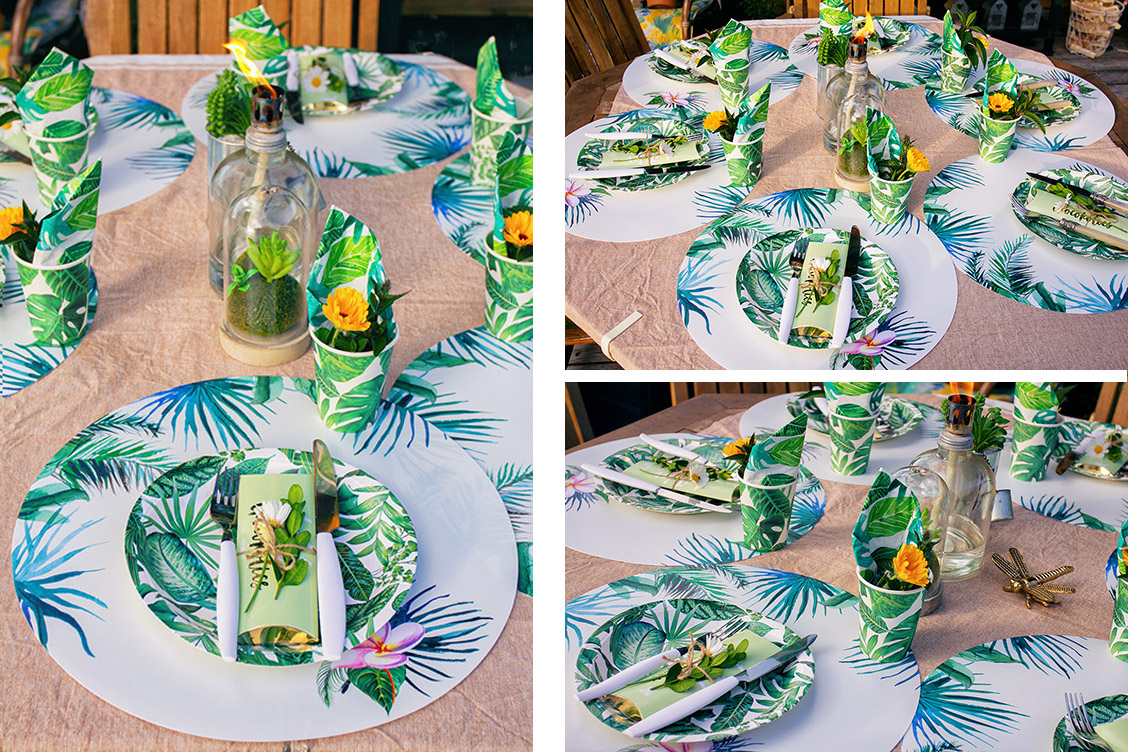 9tropical junglestyle gartenparty sommerparty lucinacuicna lucinaslife