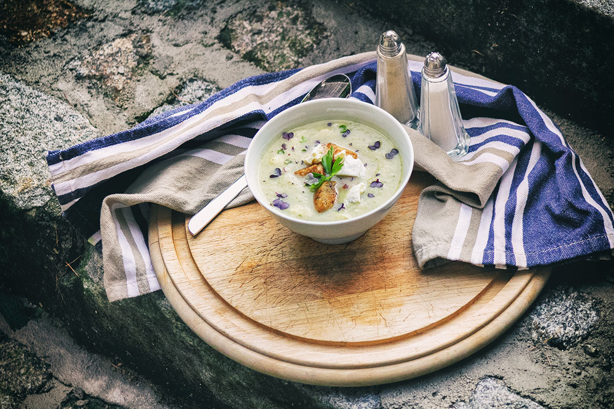lucinacucina kohlrabi camembert suppe