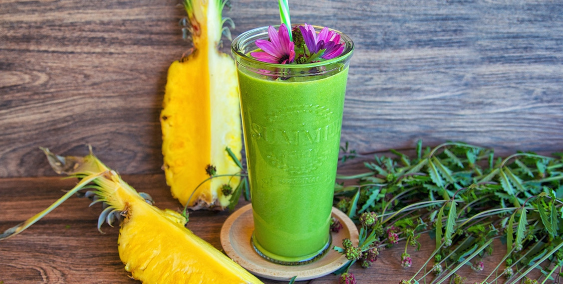 Ananas Pimpinelle Smoothie