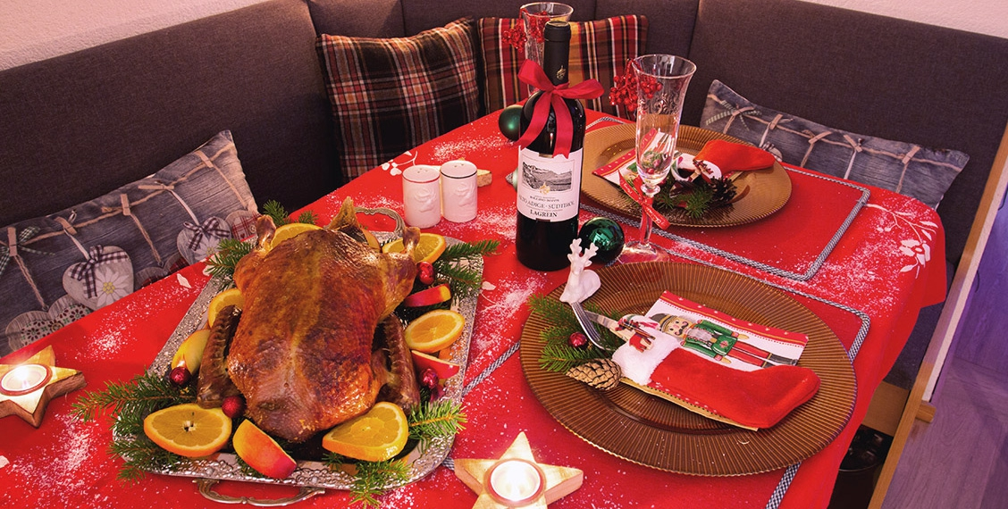 Christmas duck Barbarie